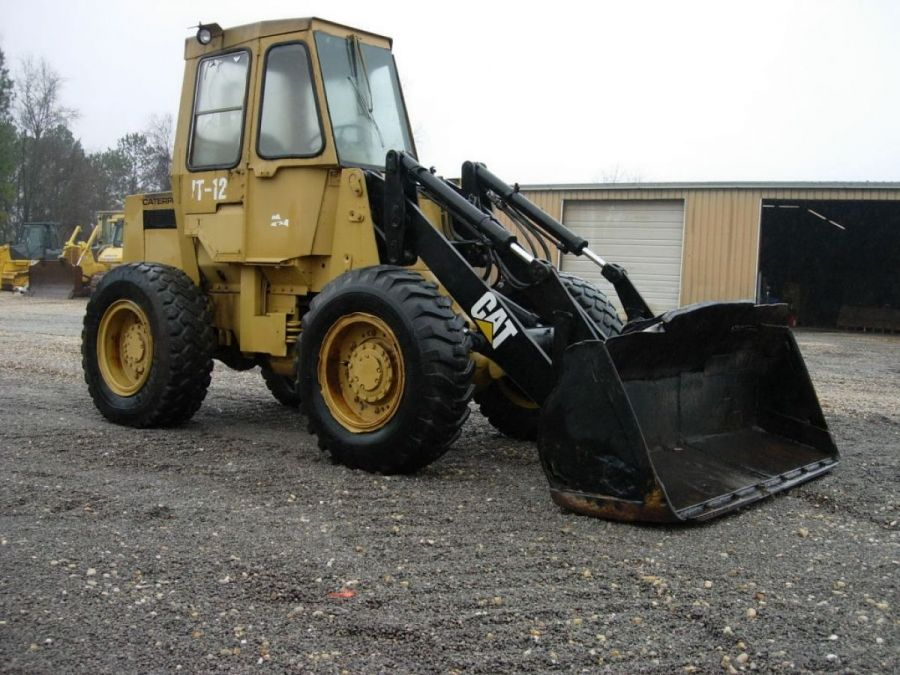 Used Wheel Loader 1990 Caterpillar 910 for Sale - 2