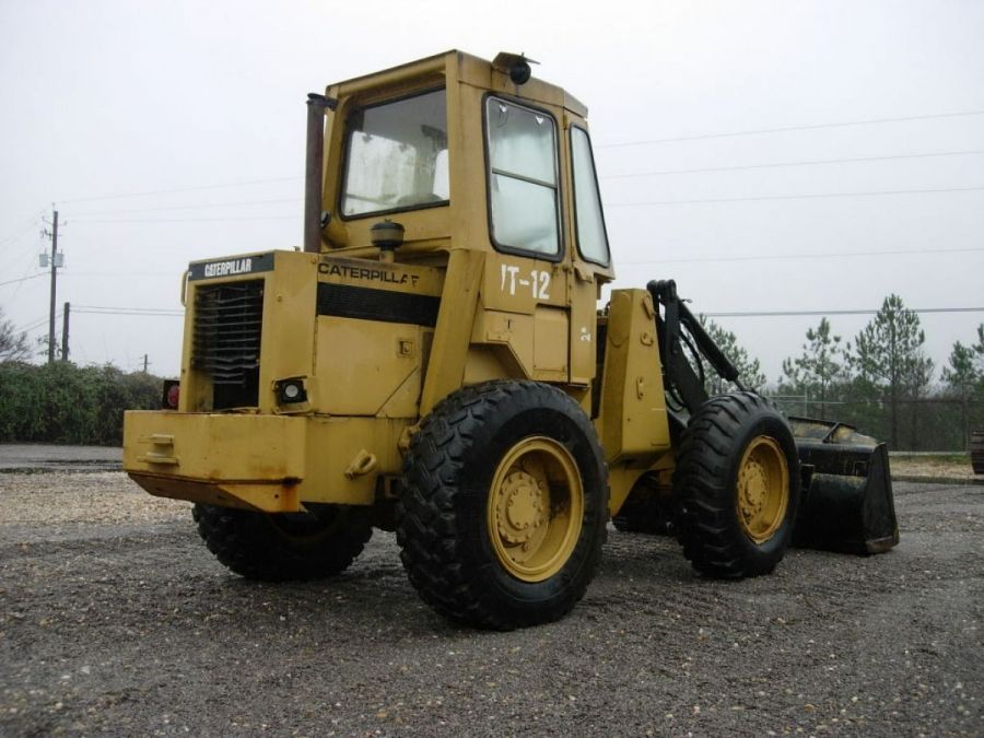 Used Wheel Loader 1990 Caterpillar 910 for Sale - 1