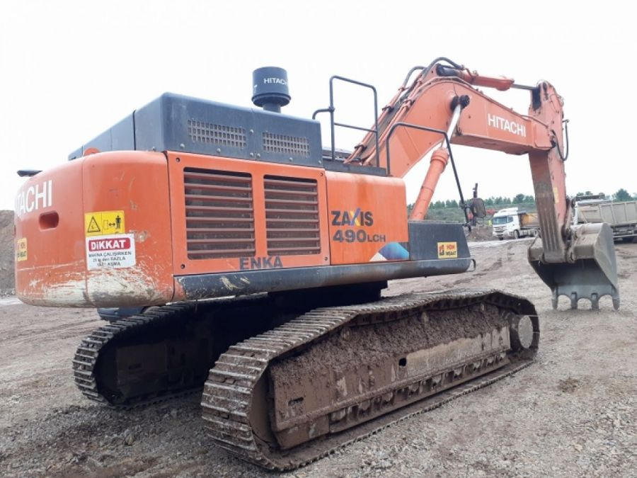 Used Excavator 2015 Hitachi ZX490 lch-5a for Sale - 3