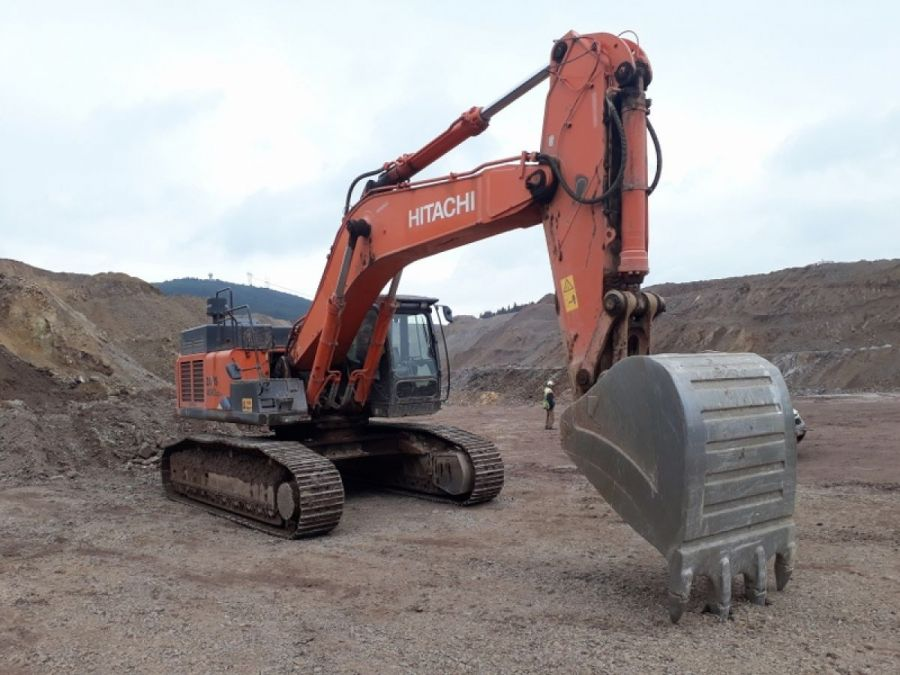Used Excavator 2015 Hitachi ZX490 lch-5a for Sale - 4