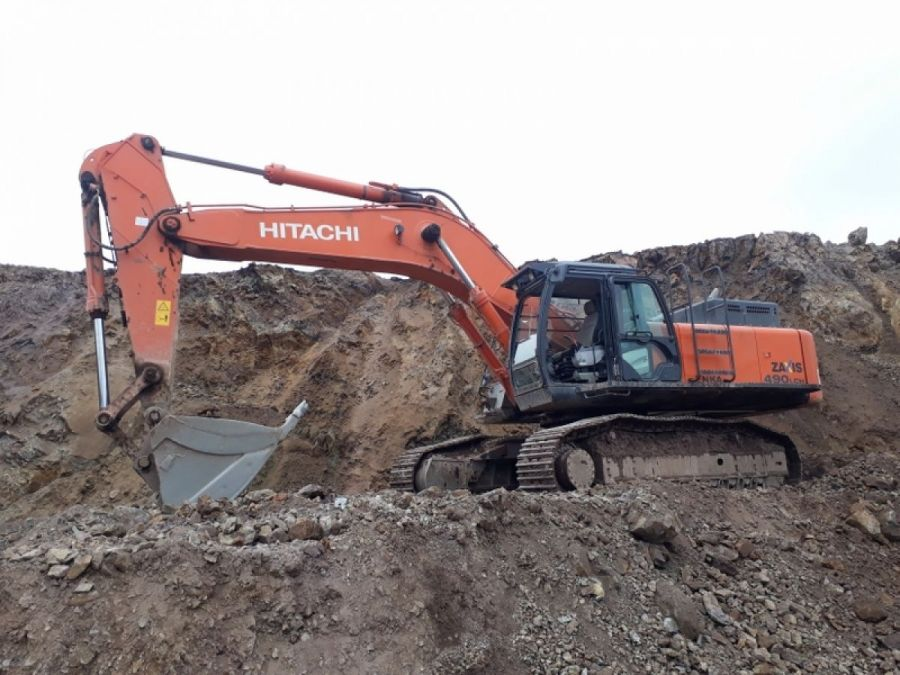 Used Excavator 2015 Hitachi ZX490 lch-5a for Sale - 1