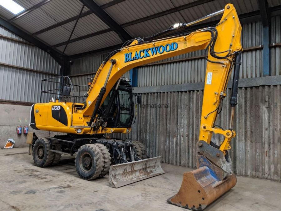 Used Excavator 2013 JCB JS 160W for Sale - 1
