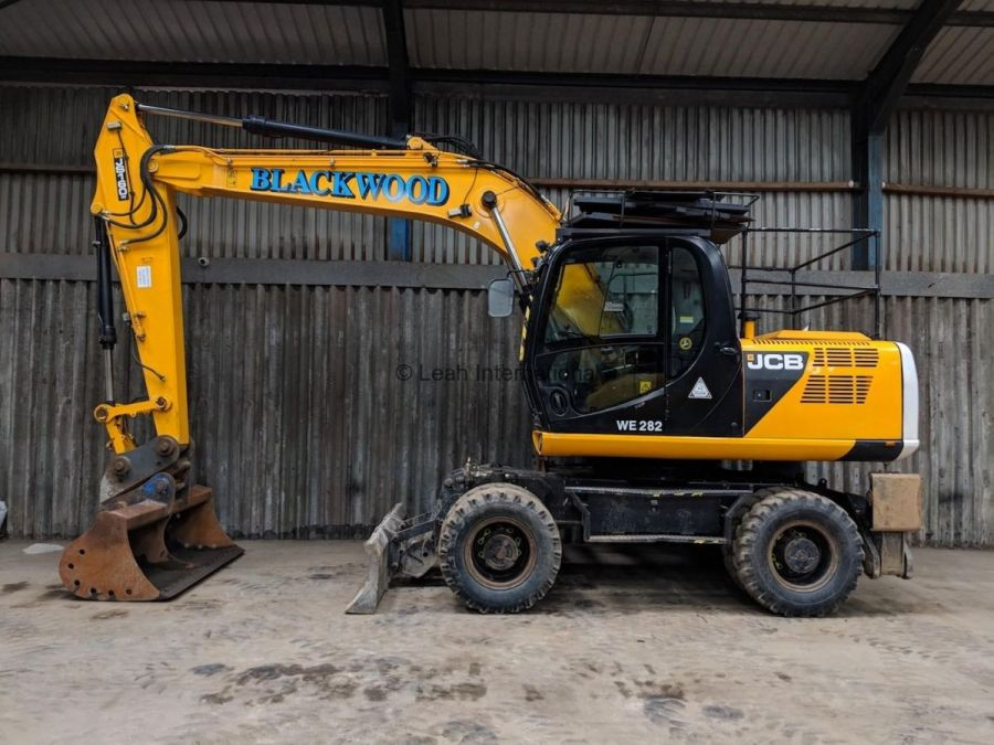 Used Excavator 2013 JCB JS 160W for Sale - 4
