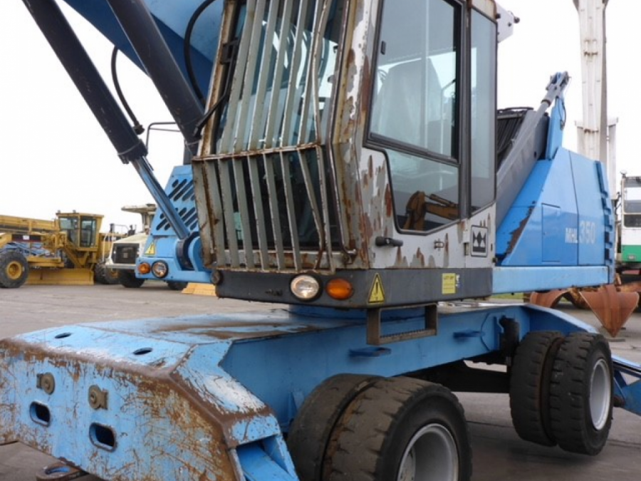 Used Material Handler 2009 Terex Fuchs MHL350 for Sale - 1