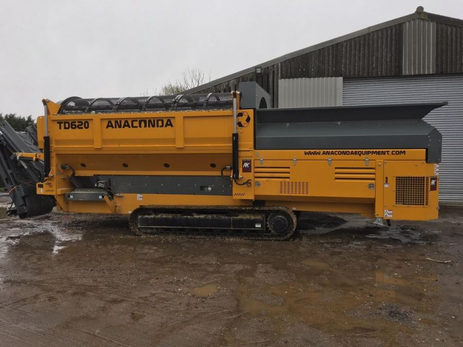 New Mobile Trommel 2018 Anaconda TD620 for Sale - 1
