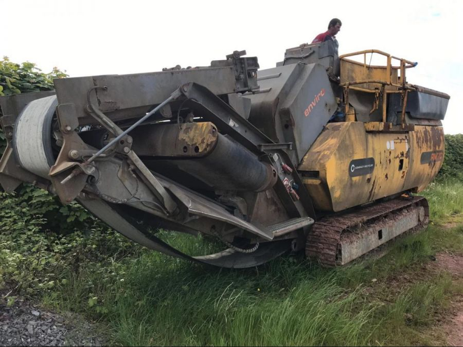 Used Crusher 2008 Rubble Master RM70 for Sale - 1