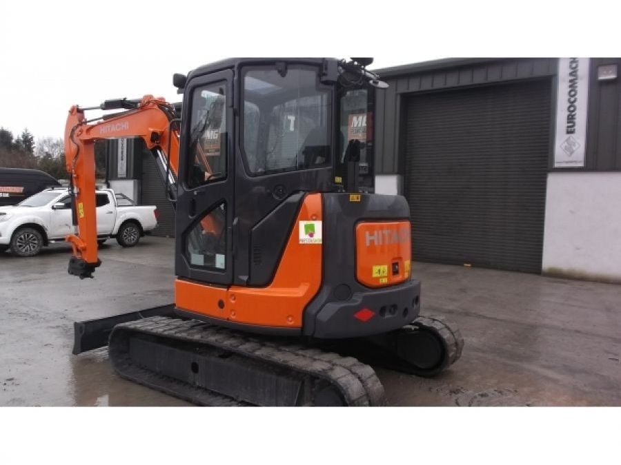 Used Excavator 2014 Hitachi ZX55U-5 for Sale - 4 - Thumbnail