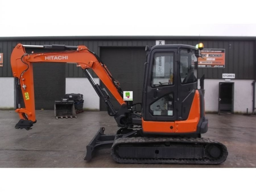 Used Excavator 2014 Hitachi ZX55U-5 for Sale - 1 - Thumbnail
