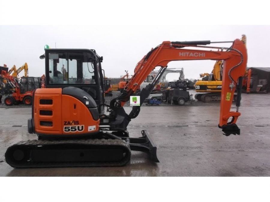 Used Excavator 2014 Hitachi ZX55U-5 for Sale - 2 - Thumbnail