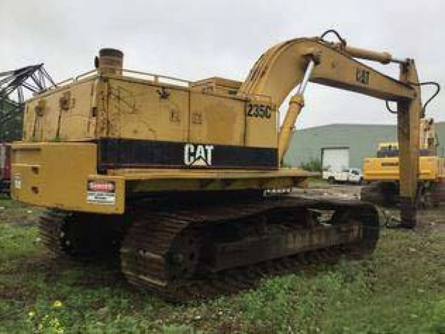 Used Excavator 1988 Caterpillar 235 for Sale - 2 - Thumbnail