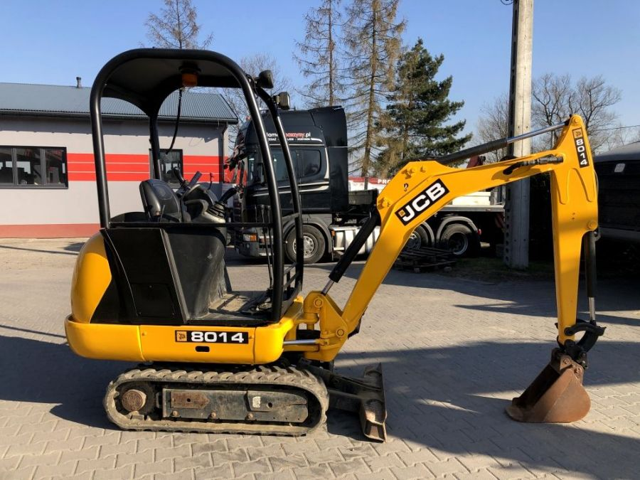 Used Excavator 2013 JCB 8014 CTS for Sale - 1