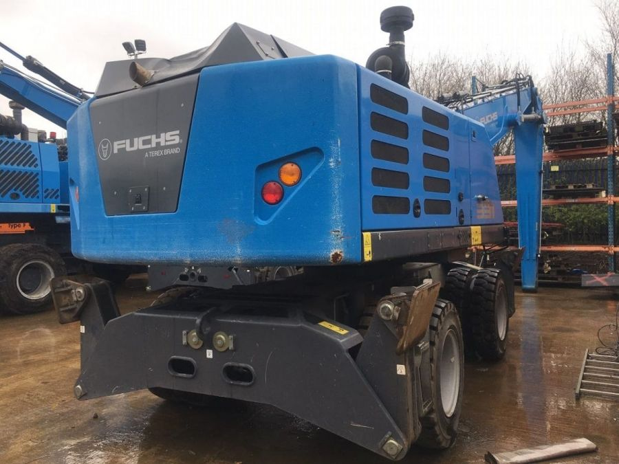 Used Material Handler 2019 Fuchs MHL331 for Sale - 2