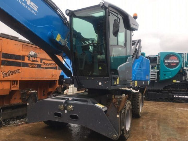 Used Material Handler 2019 Fuchs MHL331 for Sale - 1