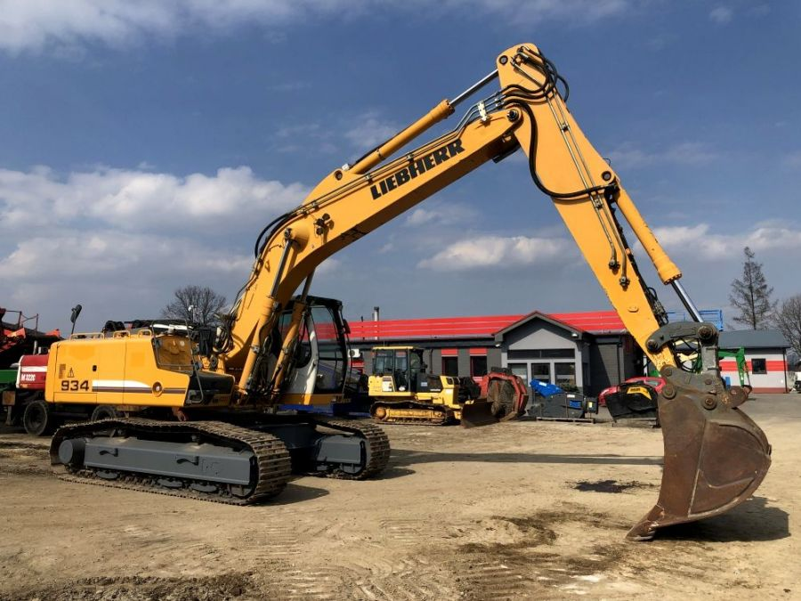 Used Excavator 2009 Liebherr R 934 C Litronic Demolition for Sale - 1