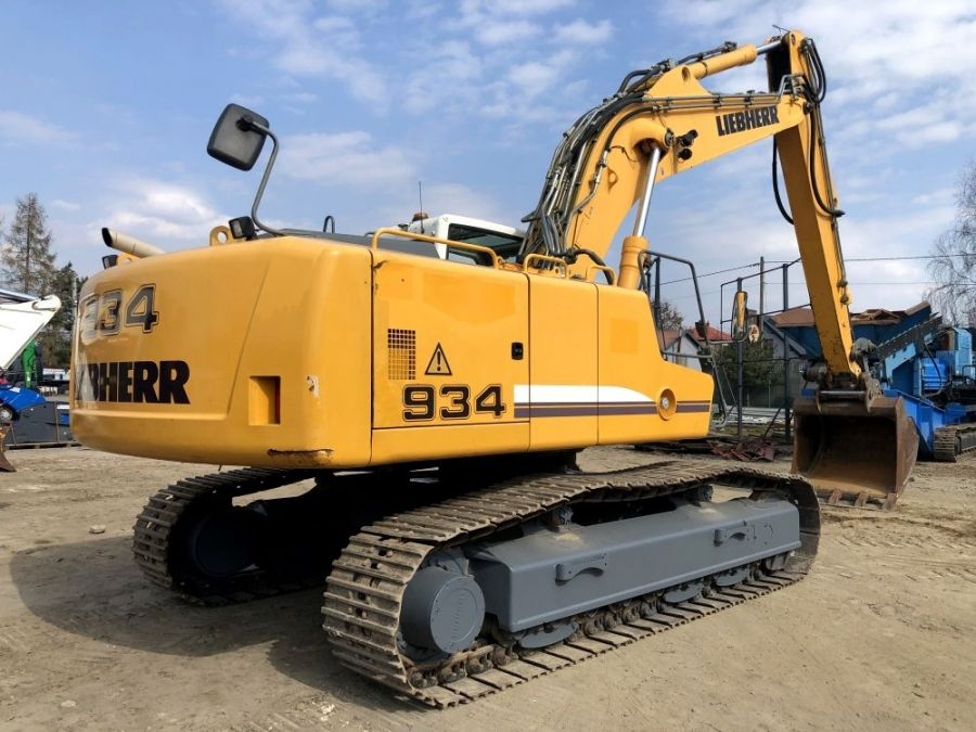 Used Excavator 2009 Liebherr R 934 C Litronic Demolition for Sale - 5