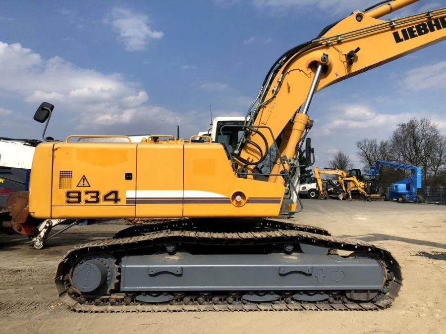 Used Excavator 2009 Liebherr R 934 C Litronic Demolition for Sale - 2