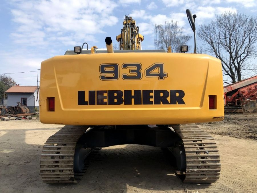 Used Excavator 2009 Liebherr R 934 C Litronic Demolition for Sale - 3
